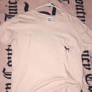 Light pink Victoria's Secret PINK T-SHIRT